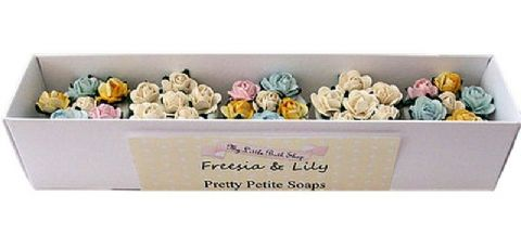 Freesia And Lily Pretty Petite Soaps Gift Set